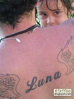 Tatuagem de Márcio Dias