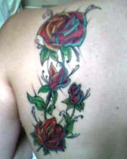 Roseiras Tatuadas