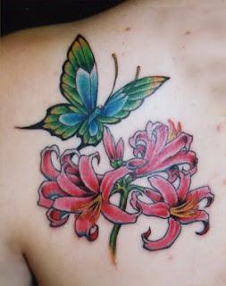 borboleta na flor