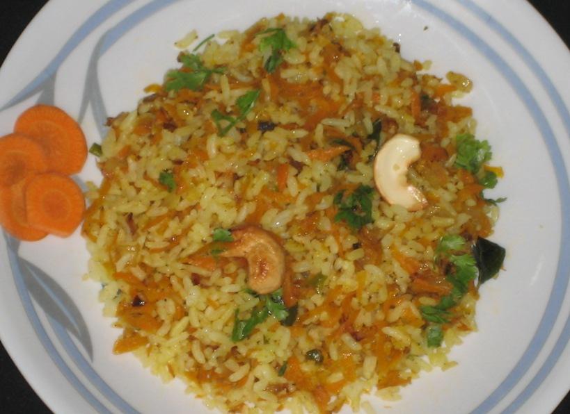 how to prepare carrot chutney in telugu