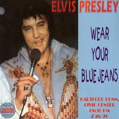ELVIS JAR - WEAR YOUR BLUE JEANS