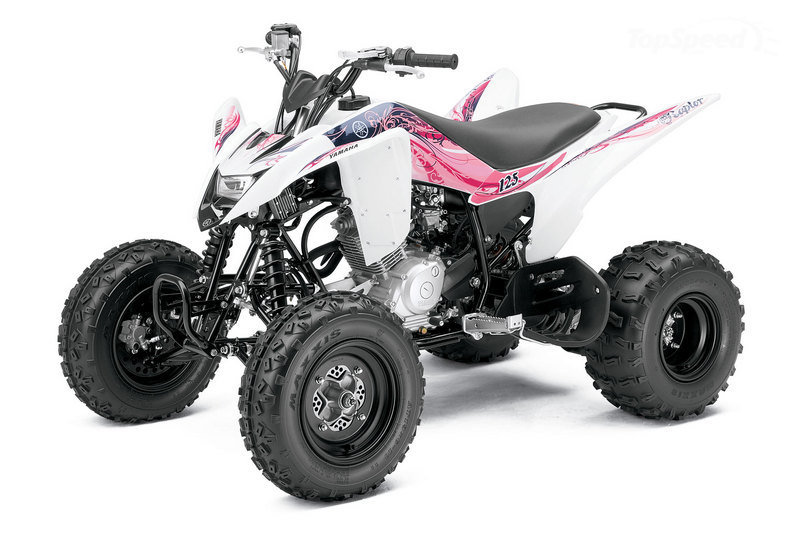 2011 yamaha raptor 125 atv new motosport custom concept modification. Black Bedroom Furniture Sets. Home Design Ideas