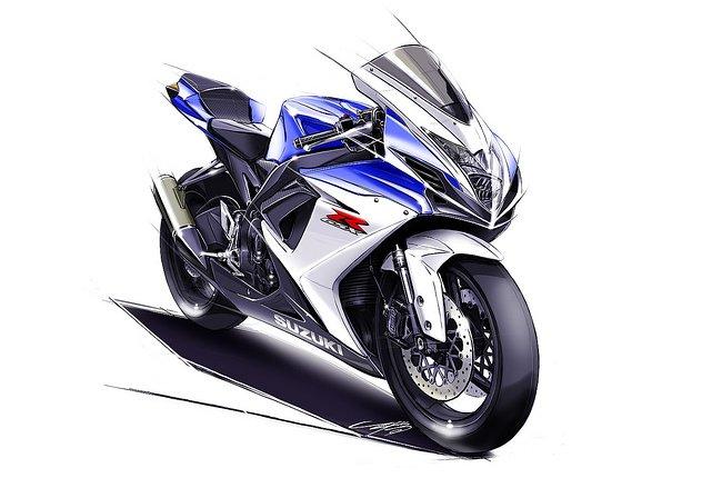 Suzuki Teases Middleweight Gixxer Motorcycles  2011