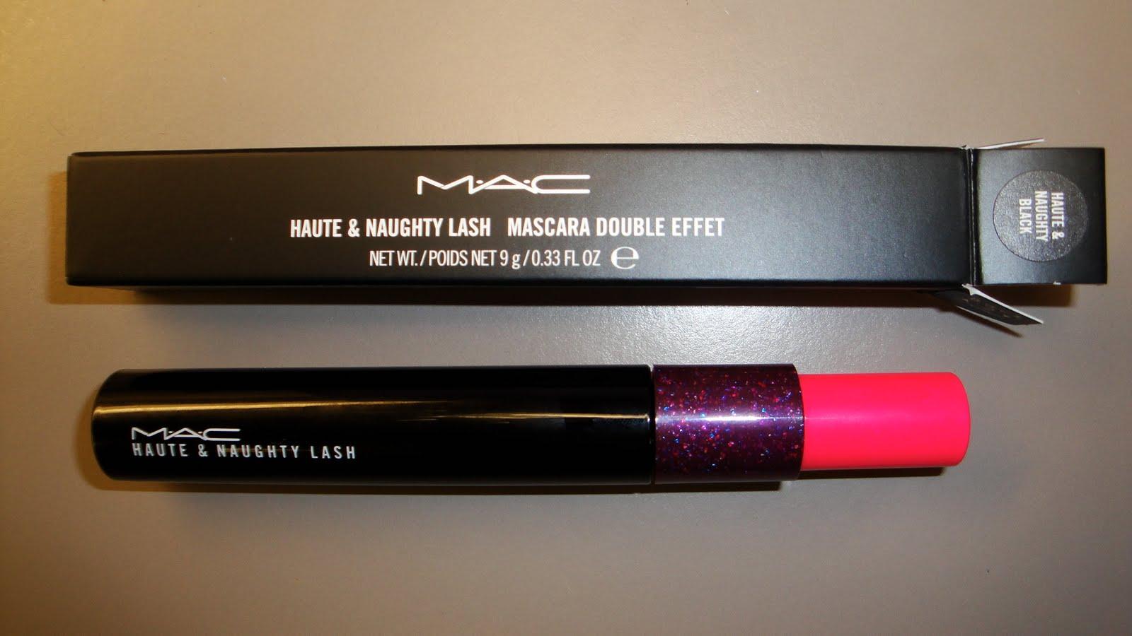 The Fancy Face: MAC Haute & Naughty Lash Mascara - Photos and ...
