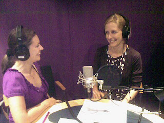 yvonne nutritionist, Niki Sheilas wheels talking healthy diets for safer drivers on UK radio