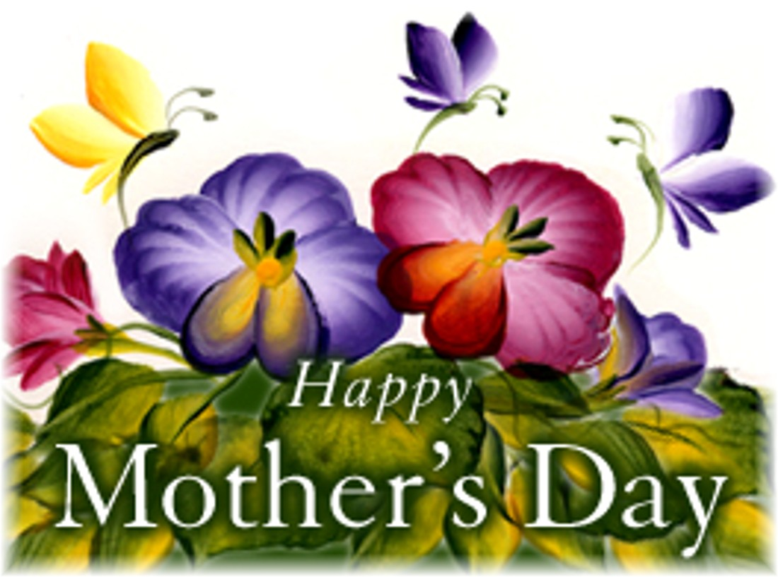 Happy Mother's Day to all you MOMS