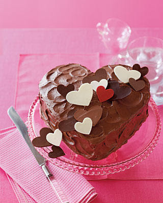 Valentine S Day Chocolate Cake Images : News From France: Chocolate Valentine Cake-- Happy ...
