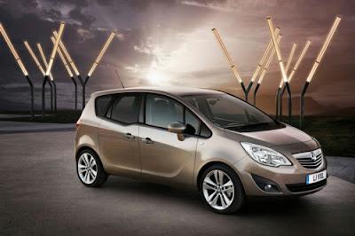 2010 Vauxall Meriva AKA 2010 Opel Meriva