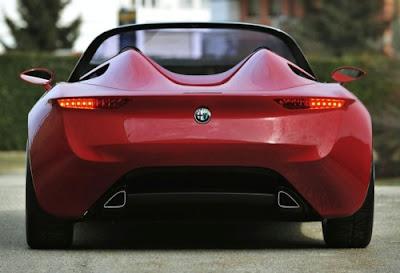 Pininfarina Alfa Romeo 2uettottanta Concept 2010 2011 Unveiled