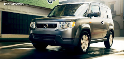 New Picture of Honda Element  2010