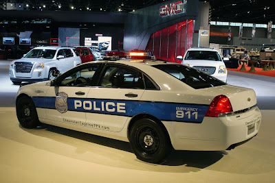 Chicago 2010: Chevrolet rolls out Caprice Police Car