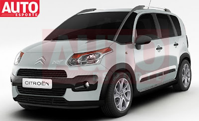 C itroen Aircross: a C3 Picasso Crossover for the South American market