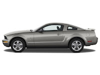 2009 Ford Mustang Coupe V6 : Review and Specification