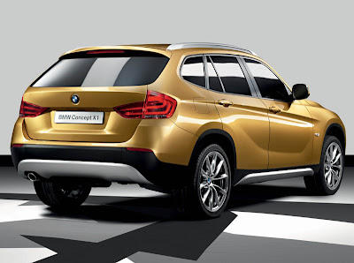 New BMW X1 Concept 2011 Fist Look in Worldcarfans.com