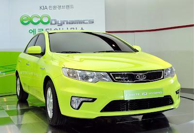 New Kia Forte Hybrid  2009 2010