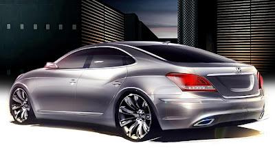 New Hyundai Equus Concept 2010