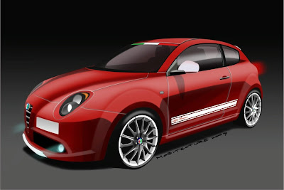 Alfa Romeo MiTo Veloce rendering 2009 Reviews
