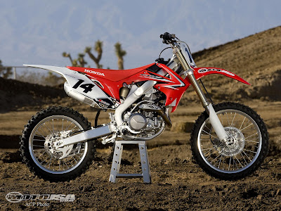 2009 New Honda CRF450R Review and Specification