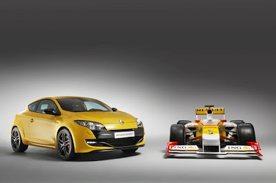 New Megane Renaultsport 250 UK 2010 Launch Announced: Reviews and Specification