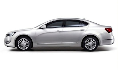 New Kia Cadenza 2010 Unveiled: Reviews and Specification