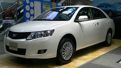 2010 Car Wallpaper : 2010 New Toyota Allion