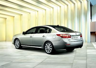2010 Renault Samsung SM5: the third generation of sedan made in Korea