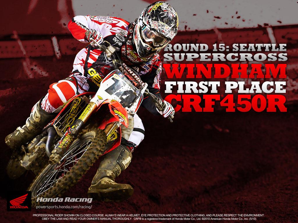 2010 Honda Red Bull Racing Motocross Wallpaper