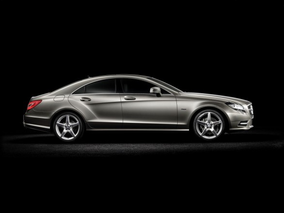 wallpaper 2011 new. New Car Mercedes CLS