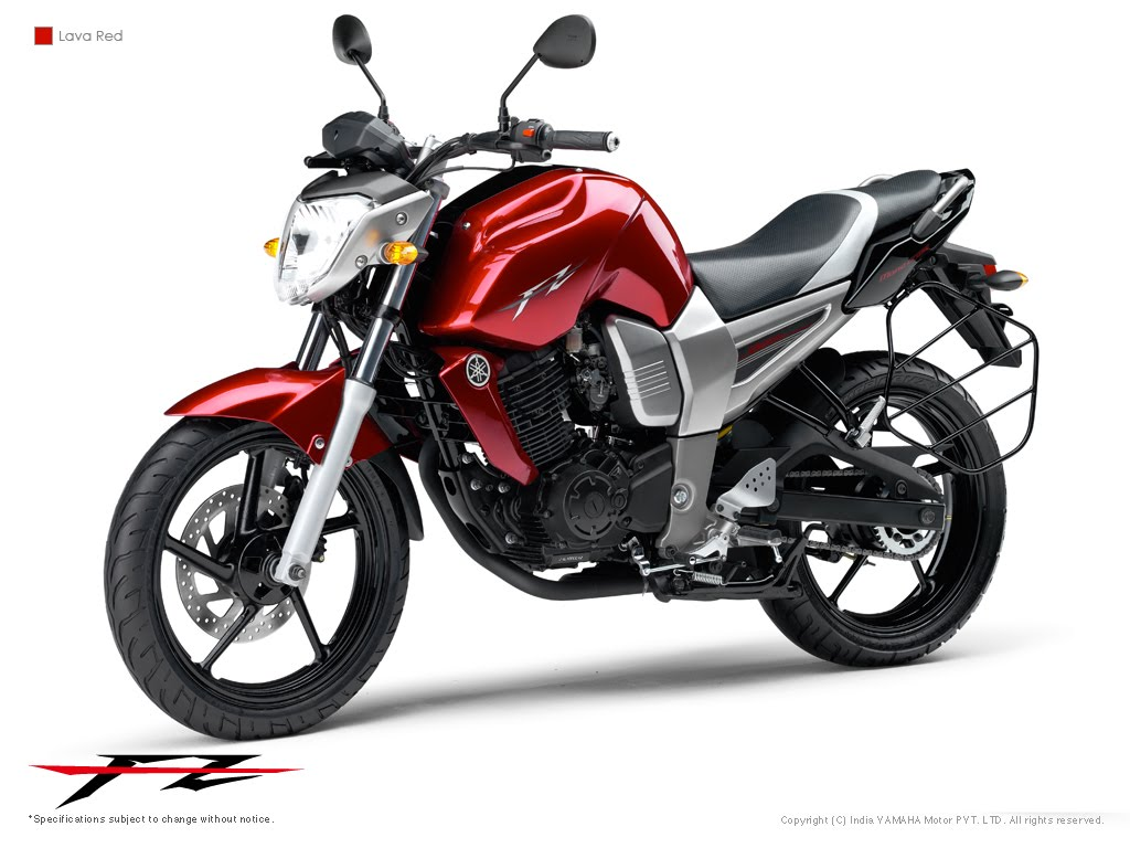 yamaha fz16 red+bison+2010+2011 Yamaha Byson Red Basic Modification Material Streetfighter