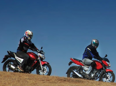 Two Yamaha Motor Byson 2010 and Scorpio Z 2010 Ready to Conquer Bromo Anyar
