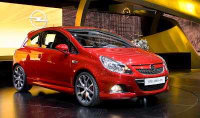 2011Opel Corsa: first graphic reconstruction of restyling
