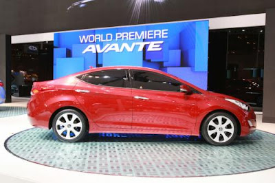 2011 New Hyundai Elantra /Evante unveiled in LA