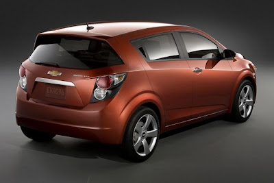 2011 Chevrolet Sonic: the first official image