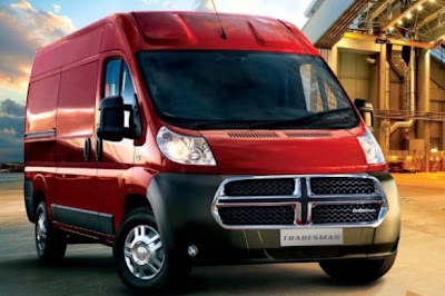 Dodge Tradesman: to study the U.S. version of the Fiat Ducato?