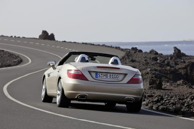 2012 Mercedes-Benz SLK-Class Roadster : Exclusive Photo
