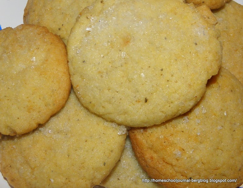 Household Ways: Black Pepper Butter Cookies