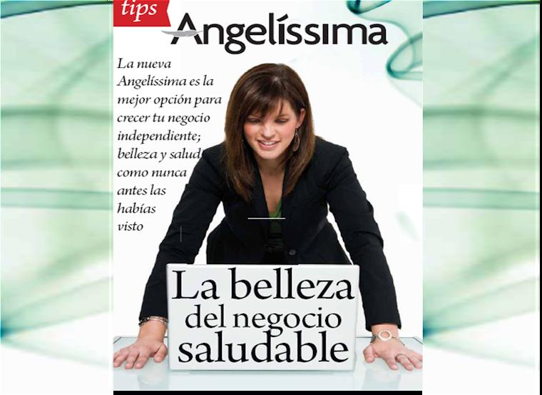 """""""Salud es  belleza,  belleza es Angelíssima"""""""