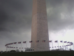 Washington Monument Storm