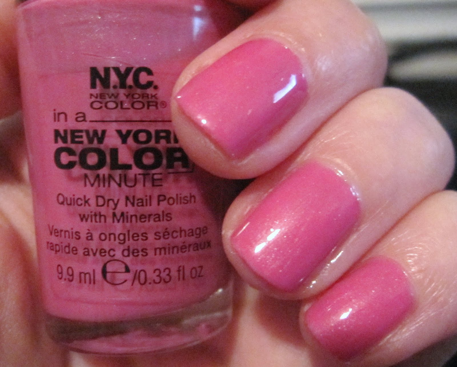 KIREI | BEAUTY: N.Y.C. In a New York Color Minute Quick Dry Nail ...