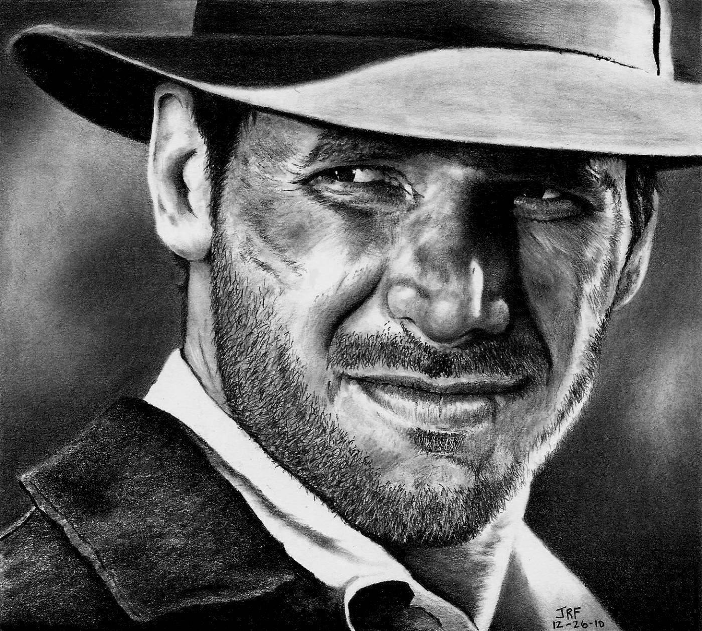 go to drawing of harrison ford as indiana jones. Cars Review. Best American Auto & Cars Review