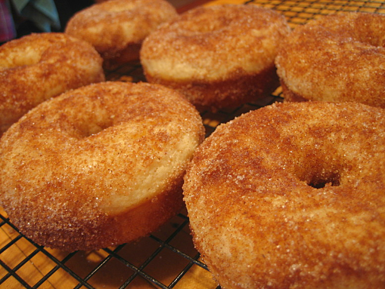 Baked Doughnuts: