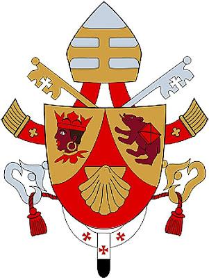 Papa Benedicto XVI - Posible dimisión (Abril-2012) Benedicto+XVI+Escudo