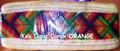 Kek Lapis Corak ORANGE