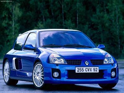 2003 Lancia Thesis 2.4 20v Jtd. 2003 Renault Clio V6 Renault