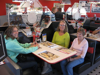 A Steak and Shake party of four.
