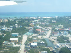View from plane into San Pedro