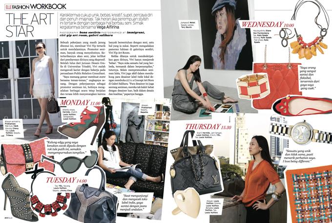 ELLE Indonesia Magazine Fashion Articles