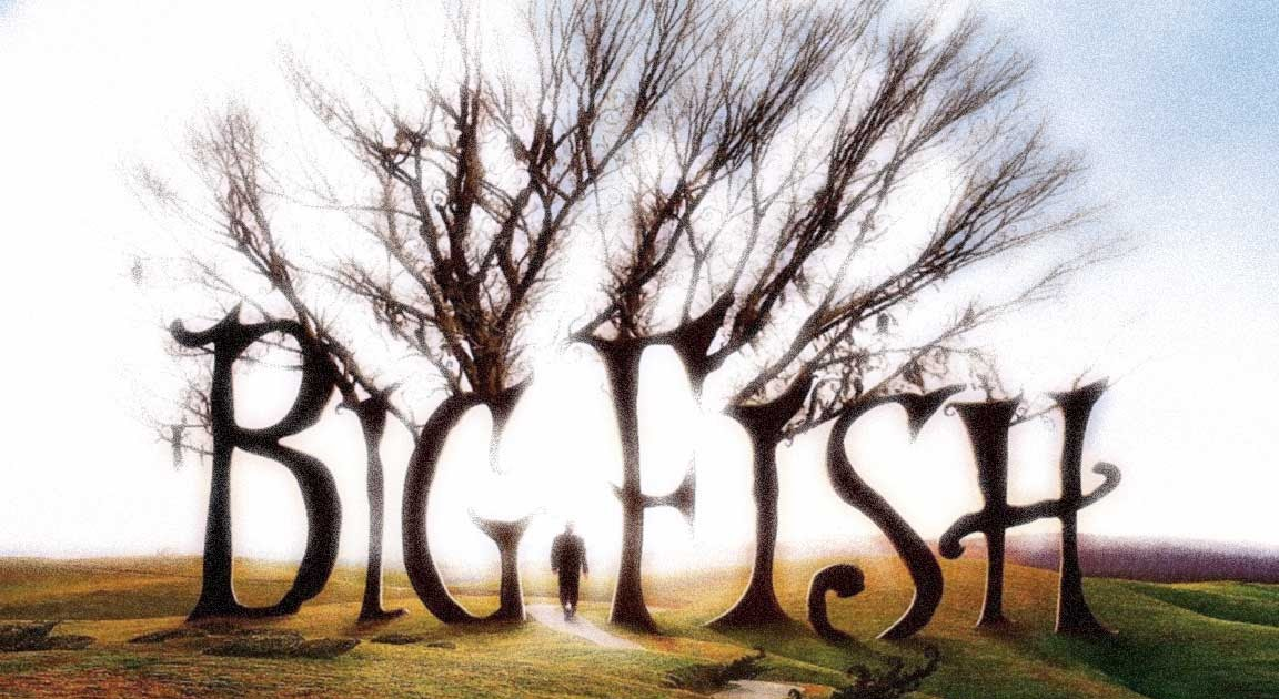 """analysis of big fish 1 Sequence 1: in the credits the story of """"the beast"""", the big fish, told by ed to his little child, then ed tells the same story to the kids of a camp sequence 2: will travels by plane ed remembers the tale of the witch."""