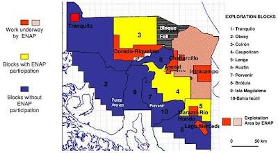 CHILE EN VIAS DE CONVERTIRSE EN UNA POTENCIA DE HIDROCARBUROS Mapa+areas+licitadas2