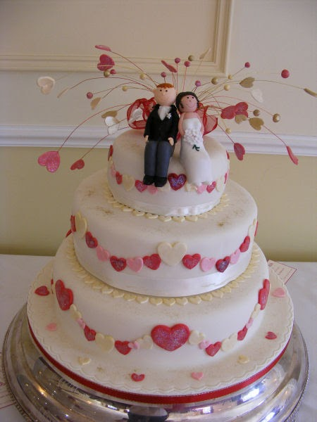 Cake Design England : CakeChannel.com - World of Cakes: Hearts and Bride and ...